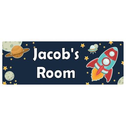 Space Door Sign