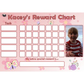 Butterfly Reward Chart Task Photo