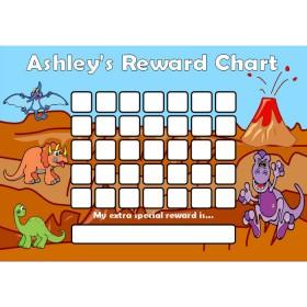Dinosaur Reward Chart Blank