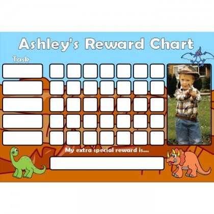 Dinosaur Reward Chart Task Photo