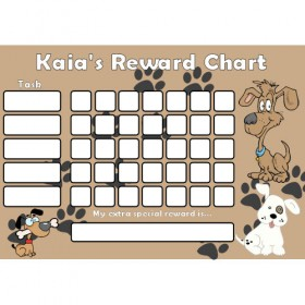 Dog Reward Chart Task