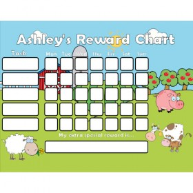 Farm Reward Chart Task with Days