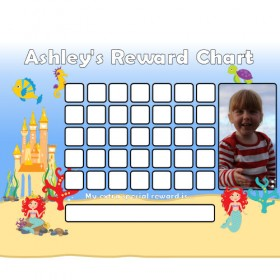 Mermaid Reward Chart Blank Photo