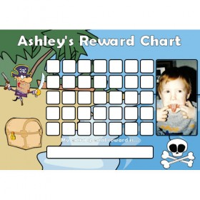 Pirate Reward Chart Blank Photo