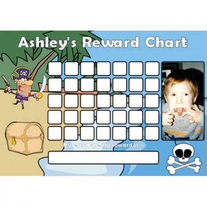 Pirate Reward Chart Blank Photo
