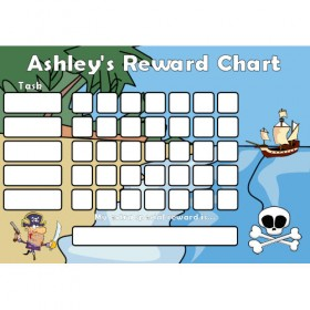 Pirate Reward Chart Task