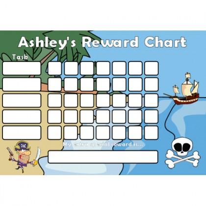 Pirate Reward Chart Task