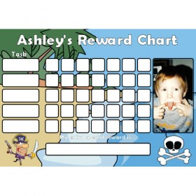 Pirate Reward Chart Task Photo