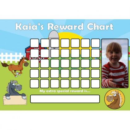 Pony Reward Chart Blank Photo