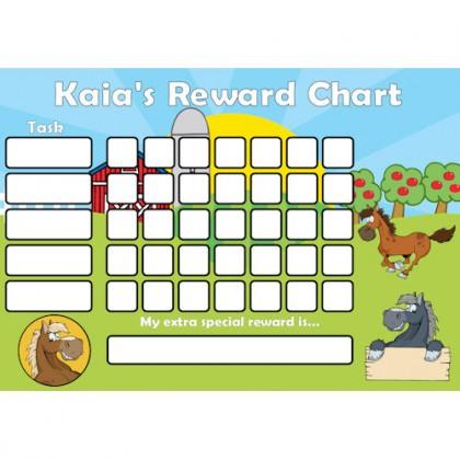 Pony Reward Chart Task