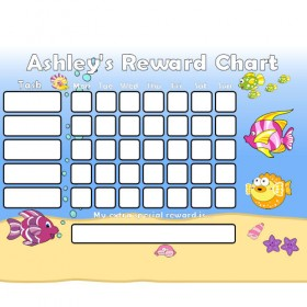 Seaside Reward Chart Task with Days