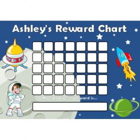 Space Reward Chart Blank