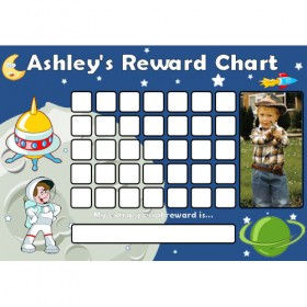 Space Reward Chart Blank Photo