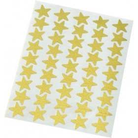 Stickers - Gold Shiny Stars