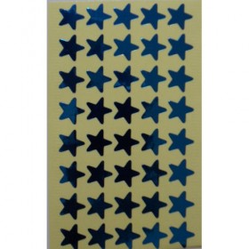 Stickers - Blue Shiny Stars