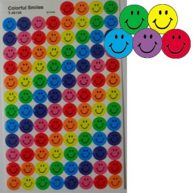 Stickers - Colourful Smiles