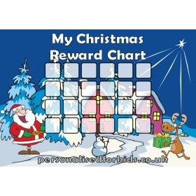 Christmas Reward Chart