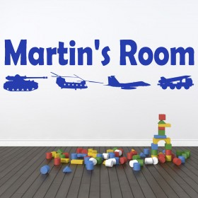 Military Wall Sticker