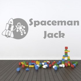 Spaceman Wall Sticker